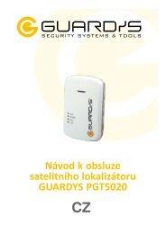 Uživatelský manuál PGT5020 - guardys