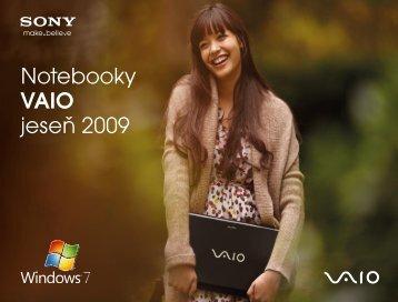Notebooky VAIO jese? 2009 - KASA.cz