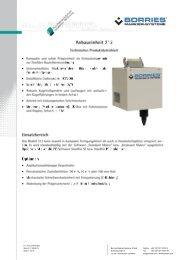 Anbaueinheit 312 - Borries Markier-Systeme GmbH