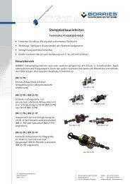 Datenblatt Stempelanbaueinheiten - Borries Markier-Systeme GmbH