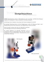 Stempelmaschinen - Borries Markier-Systeme GmbH