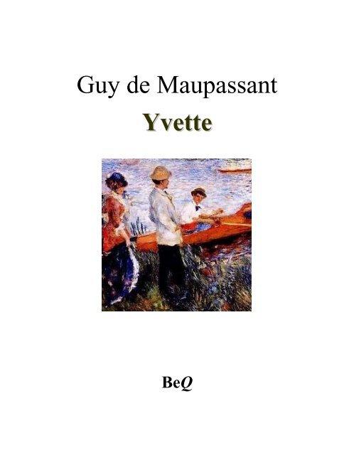 Yvette Électronique Guy Maupassant La Québec De Du Bibliothèque IYf6b7ygv