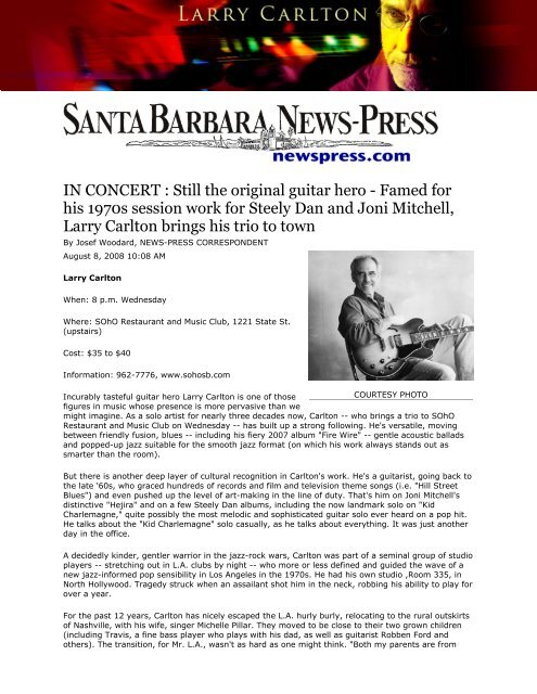 IN CONCERT : Still the original guitar hero - Famed