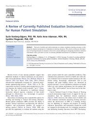 A Review of Currently Published Evaluation Instruments for Human ...