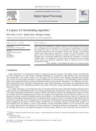 A 2-phase 2-D thresholding algorithm