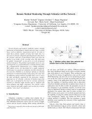Remote Medical Monitoring Through Vehicular Ad Hoc Network