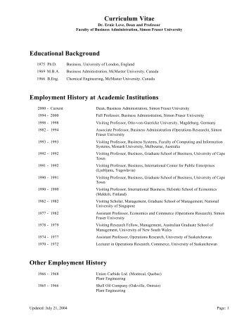 Timothy M Hsu Curriculum Vitae Educational History 6 90 S B