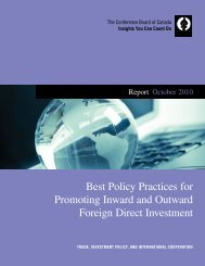 Best Policy Practices for Promoting Inward and Outward Foreign ...