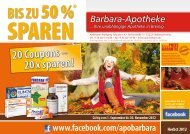 COUPON! - Barbara Apotheke