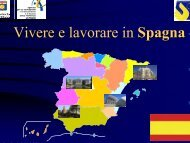 Vivere e lavorare in Spagna - Sintesi