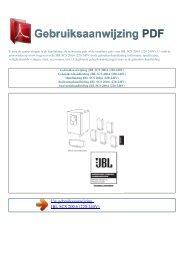 220-240V - GEBRUIKSAANWIJZING PDF