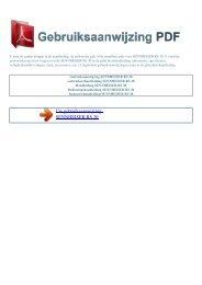 RS 30 - GEBRUIKSAANWIJZING PDF