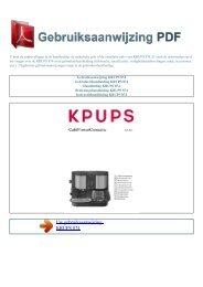 Gebruiksaanwijzing KRUPS 874 - GEBRUIKSAANWIJZING PDF