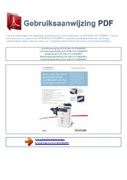 fs-c8020mfp - GEBRUIKSAANWIJZING PDF