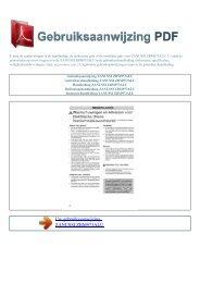 ZBM973ALU - GEBRUIKSAANWIJZING PDF