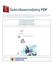 Gebruiksaanwijzing CANON IR 2220I - GEBRUIKSAANWIJZING PDF