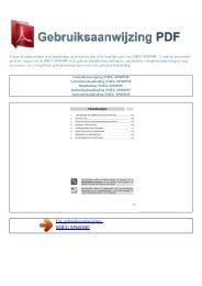 Gebruiksaanwijzing SMEG SP600MF - GEBRUIKSAANWIJZING PDF