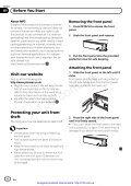 CD receiver Pioneer DEH-1100MPB - 130 — НА - Page 5