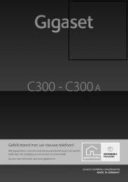 Gigaset C300-C300A - Vanden Borre
