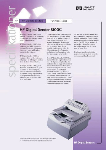 HP Digital Senders