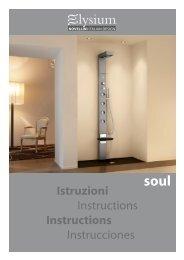 Istruzioni Instructions Instructions Instrucciones - Novellini