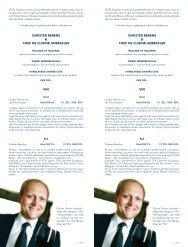 CHRISTER BERENS & CHEF DE CUISINE ... - DFDS.com