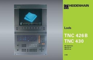 Lods TNC 426B TNC 430 - heidenhain