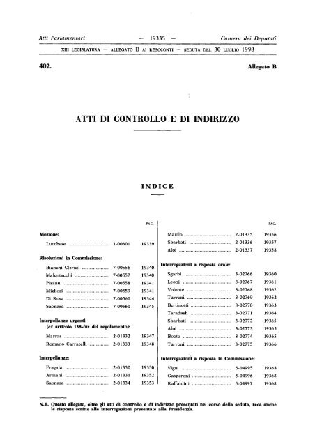 atti parlamentari 19382