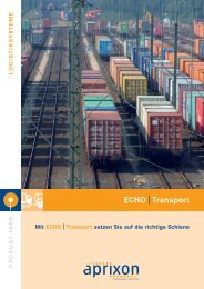Echo|transport - APRIXON Information Services Gmbh