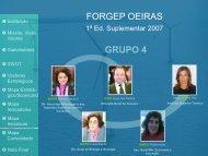 FORGEP OEIRAS GRUPO 4