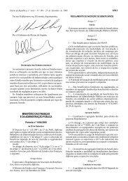 Regulamento inscrição de beneficiários - Intranet UMinho