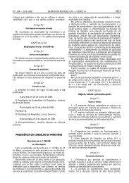4053 PRESIDÊNCIA DO CONSELHO DE MINISTROS - Diário da ...