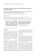 Mesalazine induced drug toxicity may mimic symptoms ... - BMJ Group - Page 2
