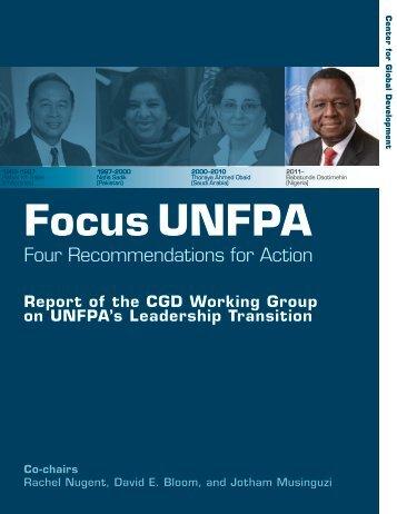 Focus UNFPA - Center for Global Development
