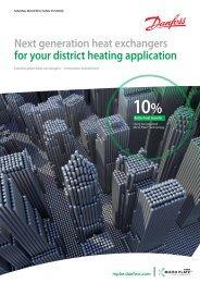 Next generation heat exchangers for your district ... - Danfoss.com