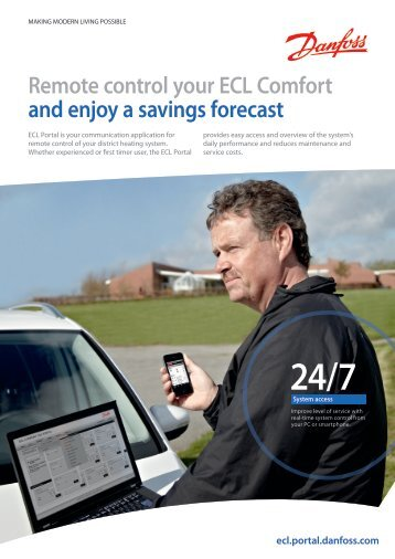 Remote control your ECL Comfort and enjoy a ... - Danfoss.com