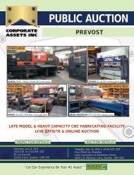 PUBLIC AUCTION PREVOST - Corporate Assets Inc.