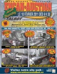 700, RUE GAUDETTE, SAINT-JEAN-SUR-RICHELIEU, QC, J3B 1L7 ...