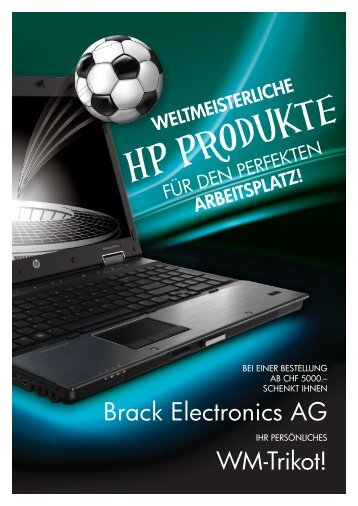 Brack Electronics AG WM-Trikot!