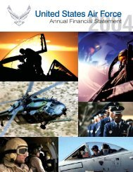 United States Air Force - Office of the Under Secretary of Defense ...
