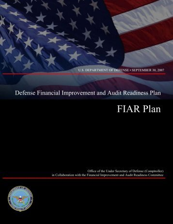 FIAR Plan - Office of the Under Secretary of Defense (Comptroller)