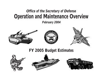 Operation and Maintenance Overview, page 178 - GlobalSecurity.org