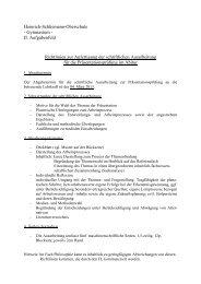 Richtlinien zur Anfertigung der schriftlichen Ausarbeitung für die ...