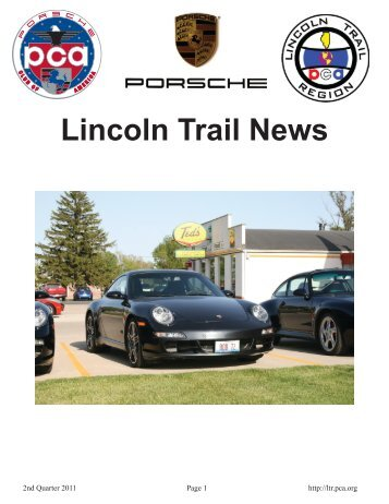 2nd Quarter 2011 - Lincoln Trail - Porsche Club of America