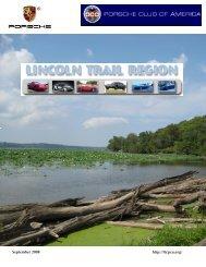 September 2008 - Lincoln Trail - Porsche Club of America