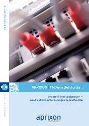 Aprixon|it-Dienstleistungen - APRIXON Information Services Gmbh