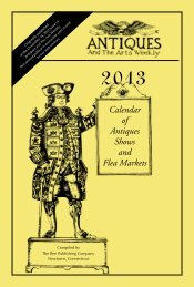 Calendar of Antiques Shows and Flea Markets - Antiques and The ...