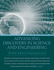 advancing discovery in science and engineering - Computing ...