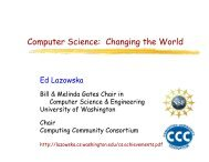 Computer Science: Changing the World