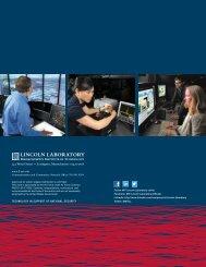 2012 Annual Report - MIT Lincoln Laboratory